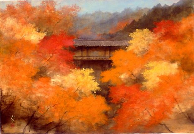 東福寺の秋 岡 信孝